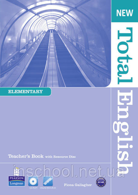 New Total English Elementary Teacher's Book (with Resource Disc) ISBN: 9781408267264