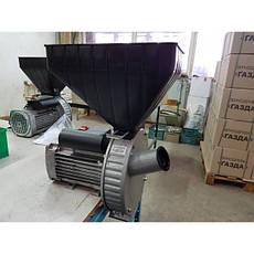 Зернодробилка ГАЗДА М-80 молотковая (зерно + початки кукурузы), 2,5 кВт, фото 3