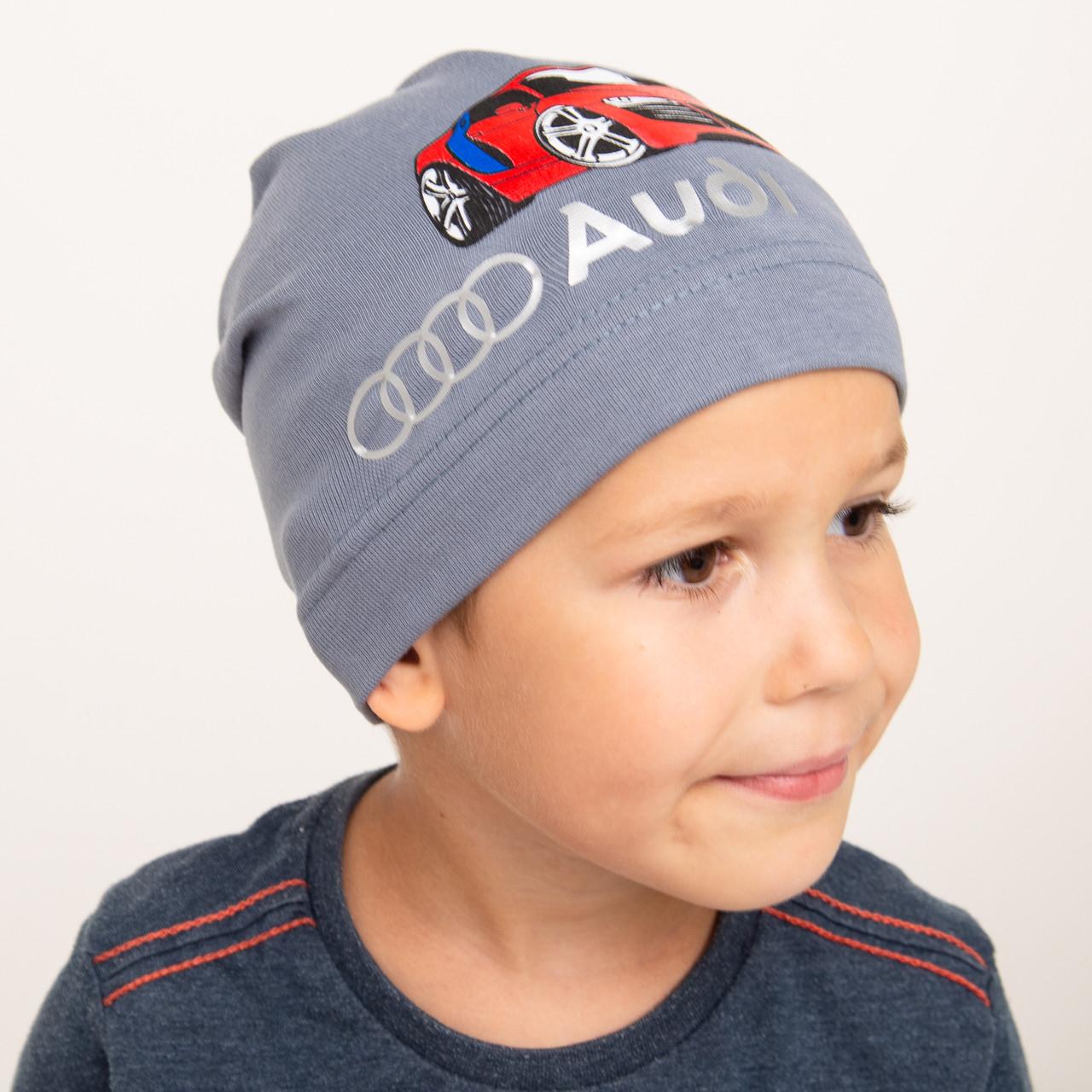 Спортивная весенняя шапка для мальчика оптом - Артикул 2279