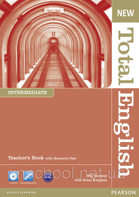 New Total English Intermediate Teacher's Book (with Resource Disc) ISBN: 9781408267271