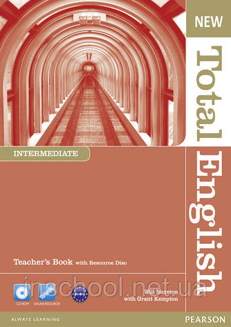 New Total English Intermediate Teacher's Book (with Resource Disc) ISBN: 9781408267271, фото 2