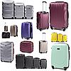 Весь январь большие пластиковые чемоданы на 100 грн. дешевле🎉🎉🎉