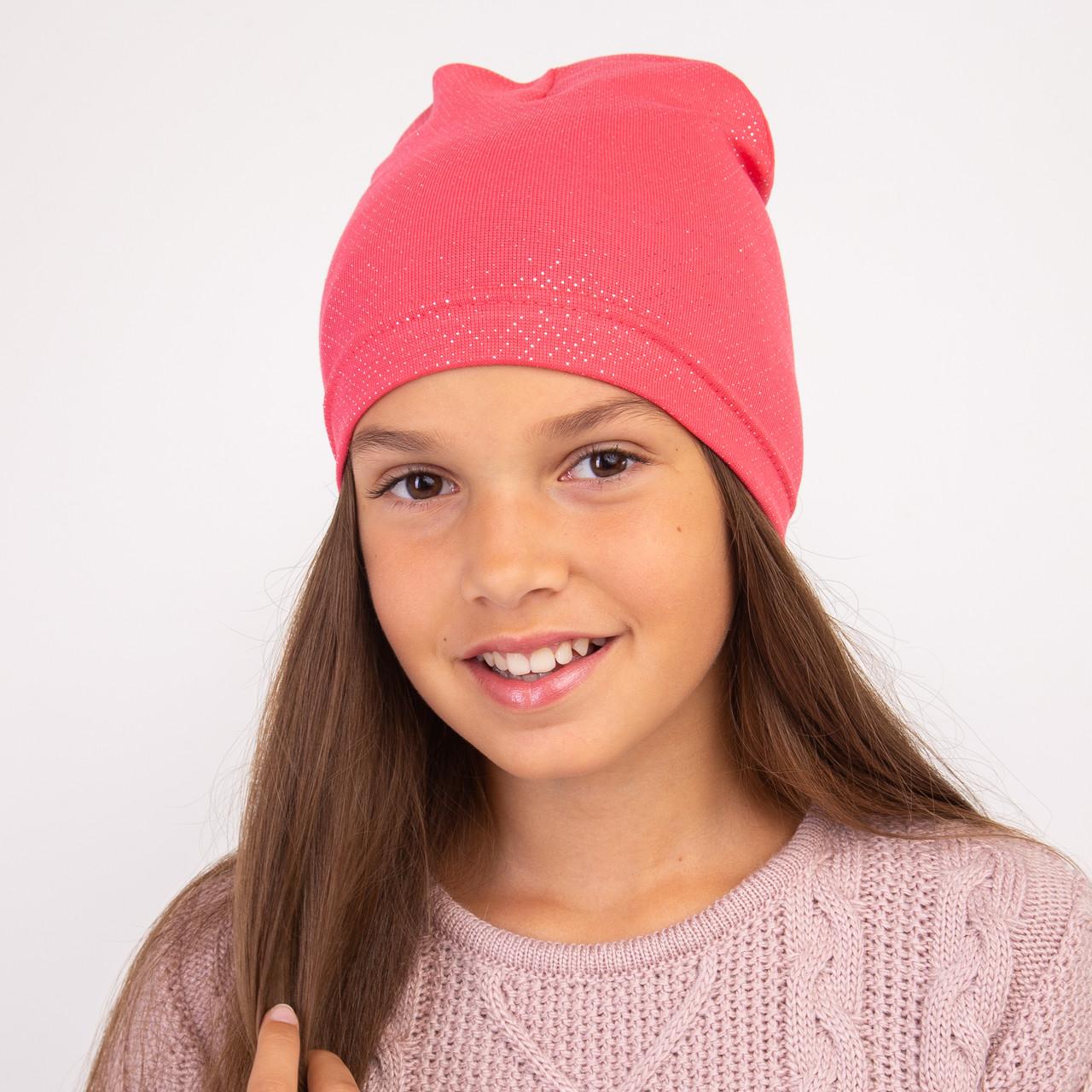 Модная весенняя шапка для девочки оптом - Артикул 2285