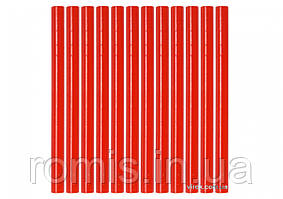 Клеевые стержни красные YATO 7.2 х 100 мм 12 шт