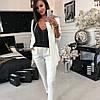 Классический женский брючный костюм пиджак и брюки sh-003 (42-52р, разные цвета), фото 3