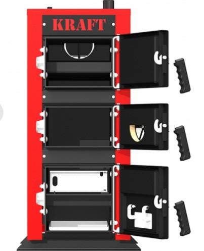 Котел тривалого горіння Kraft серія E 24 кВт (Крафт )