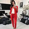 Классический женский брючный костюм пиджак и брюки sh-003 (42-52р, разные цвета), фото 6