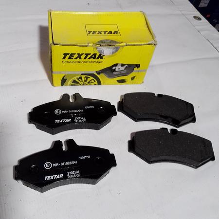 Задние тормозные колодки A0004209720. TEXTAR Germany