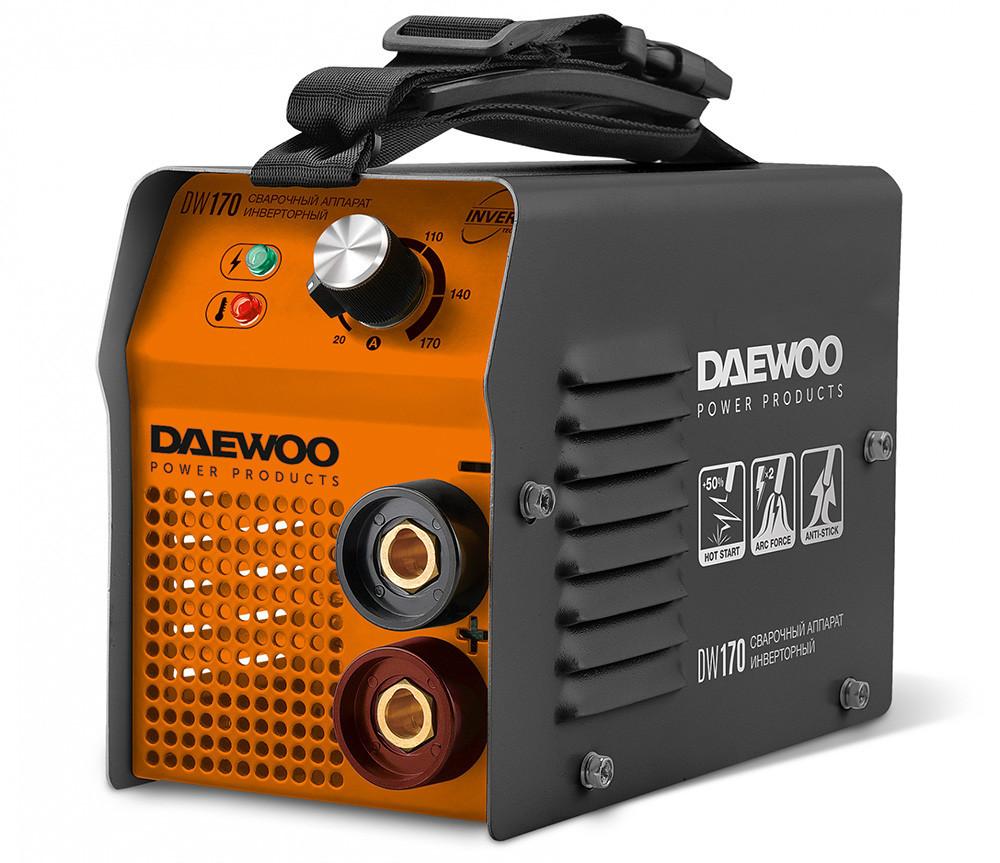 Зварювальний інвертор Daewoo DW 170