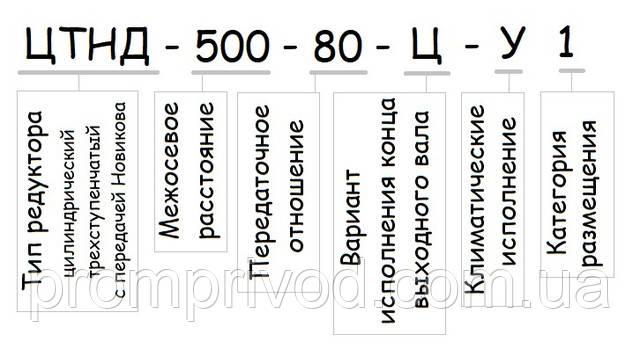 Редуктор ЦТНД-500 купить