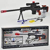 Винтовка АК 47-6 с водяными пульками на аккумуляторе, очки, зарядка, в коробке