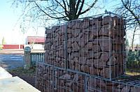 Габионы наполненные камнем бутовым Лезниковского месторождения