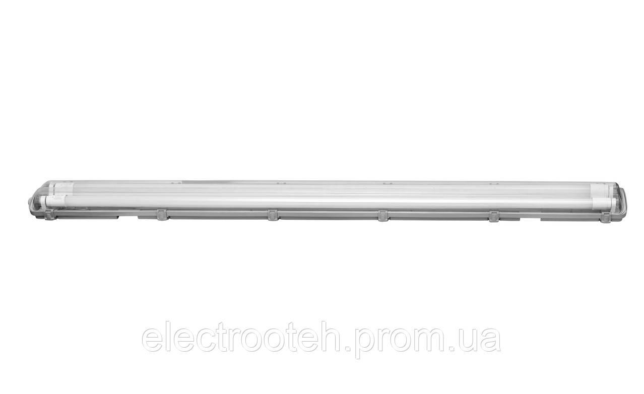Світильник світлодіодний промисловий DELUX PC 7 LED (2*1200мм) IP65 G13 без ламп