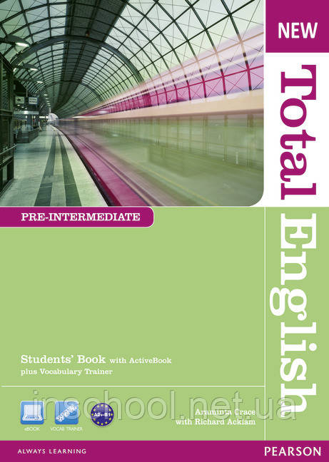 New Total English Pre-intermediate Students' Book (with Active Book CD-ROM) ISBN: 9781408267202