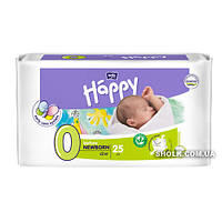 Подгузники детские Bella Baby Happy Before Newborn 0-2 кг 25 шт