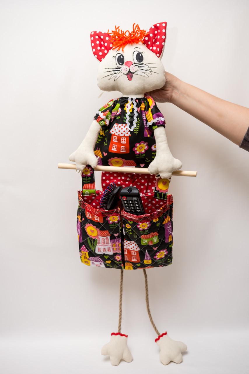 Котик органайзер с карманами