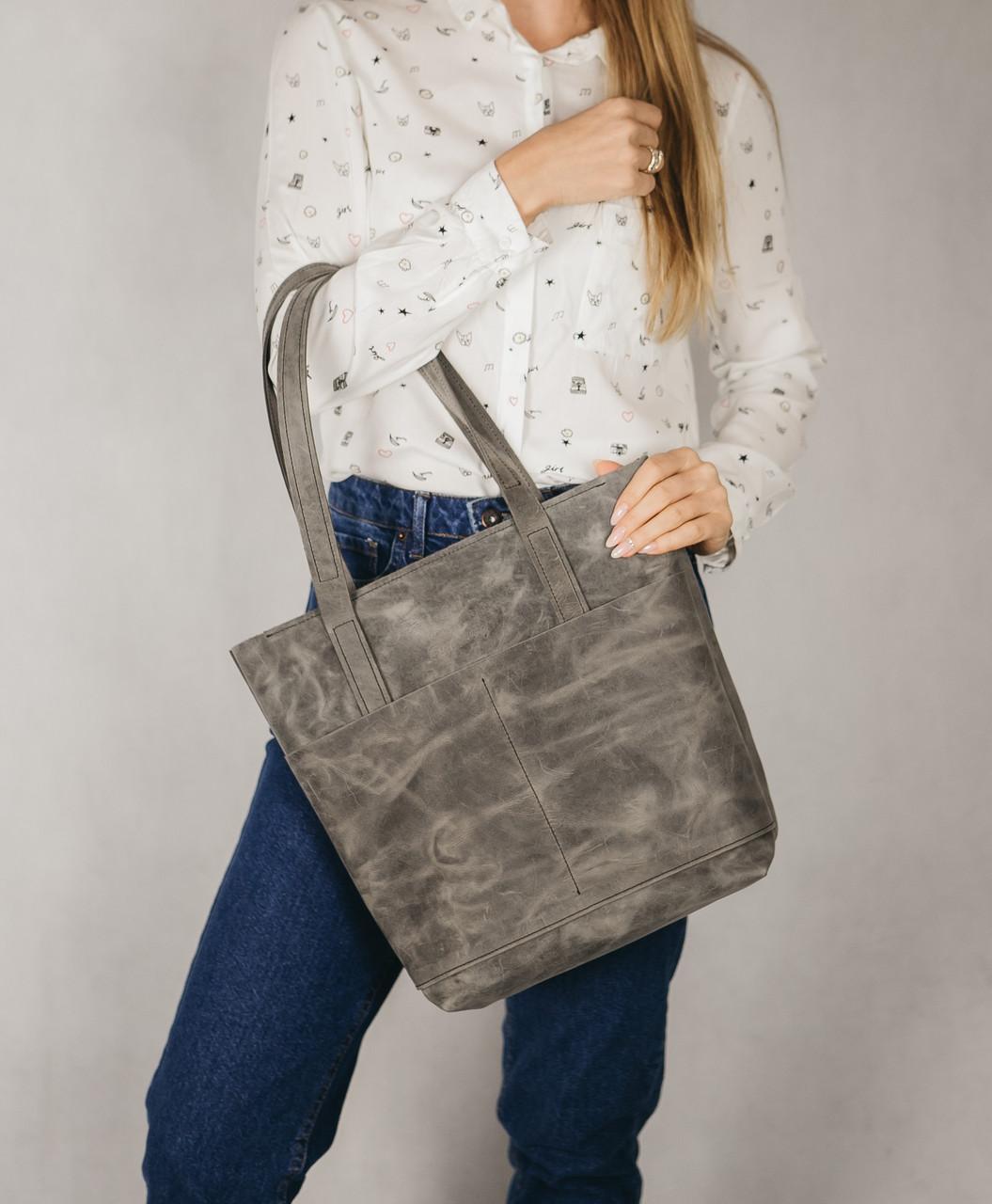 114744684656 Сумка из кожи BigPo ручной работы, сумка женская, жіноча сумка зі шкіри -  Blue