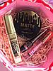Тушь Karite Big + Пудра 2in1 Matte + Подводка для глаз Karite + Блеск оттеночный  Промо набор №0033
