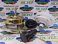 Ремкомплект для стиральной машины полуавтомат (двигатель стирки, редуктор под квадрат, конденсатор, сальник), фото 1