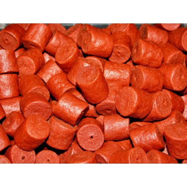 Pellets пеллетс Red Halibut (премиум класcа с отверстием) 8мм 1кг