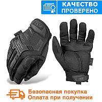 Тактичні рукавички Mechanix Contra PRO. - Black (Mex-black)
