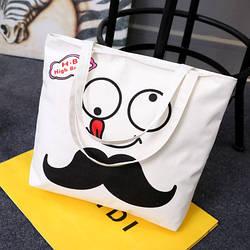 Эко-сумка с усами