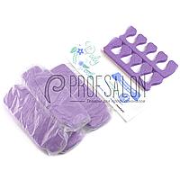 Разделители для пальцев ног Doily, 5 пар в уп, Фиолетовые