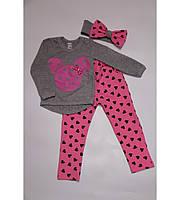 Детский костюм Минни Маус сердечко для девочки на 1-3 года
