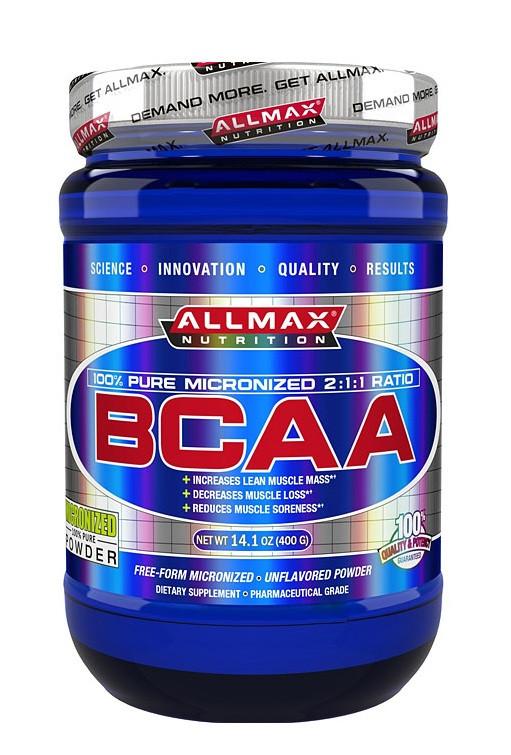 BCAA AllMax Nutrition - BCAA 2:1:1 (400 грамм)