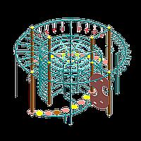 Гимнастическо-игровой комплекс IK02_ Цилиндр