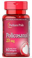Поликозанол для сердца, понижает холестерин, Puritan's Pride Policosanol 20 mg 60 softgels