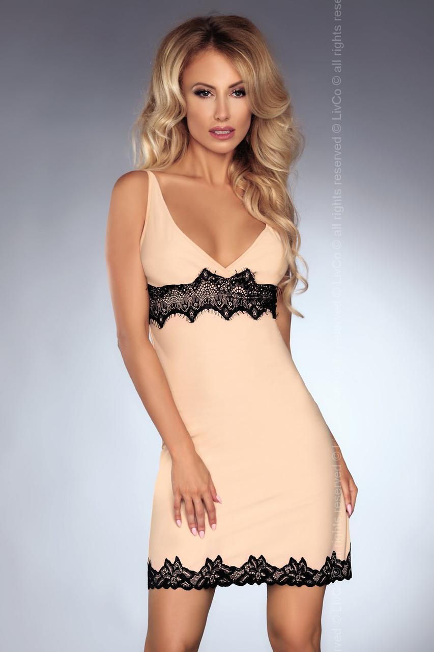 Соблазнительная женская ночная рубашка - пеньюар Kathleen Livia Corsetti Fashion