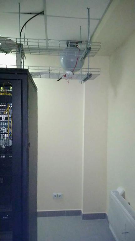 АСПГ (газовое пожаротушение в серверной комнате)