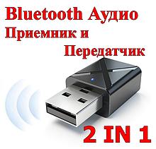 Bluetooth аудіо приймач-передавач KN320 2 in 1