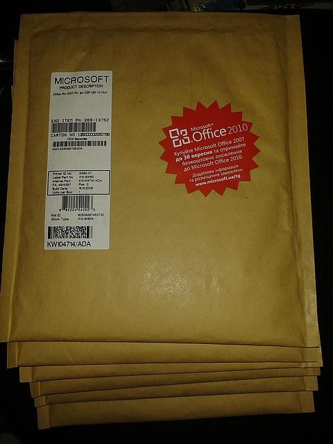 Microsoft MS Office 2007 Professional 32-bit Russian, 269-10490, OEM