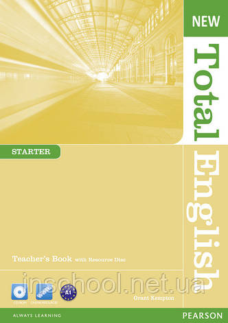 New Total English Starter Teacher's Book (with CD-ROM) ISBN: 9781408267295, фото 2