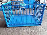Весы для взвешивания животных 1х1.5 метра 1000 кг, фото 1