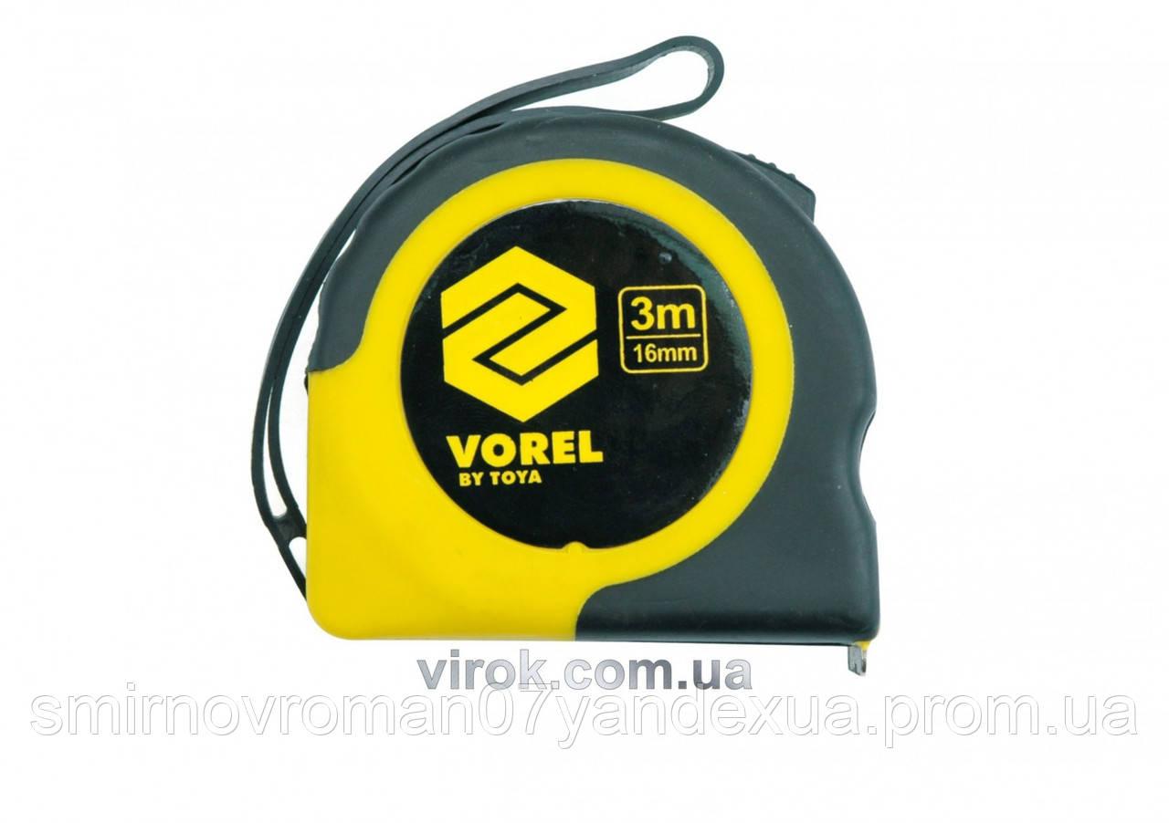 Рулетка VOREL 2 м х 16 мм