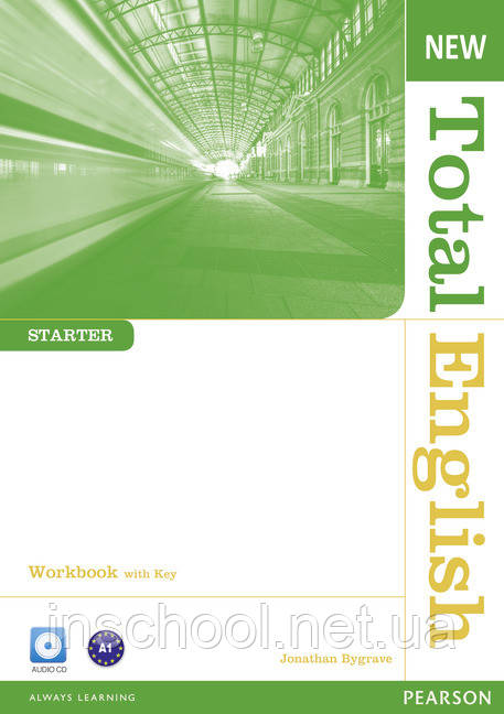 New Total English Starter Workbook (with Key) and Audio CD ISBN: 9781408267394