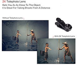 Линзы для телефона 7 в 1 Akinger, фото 3