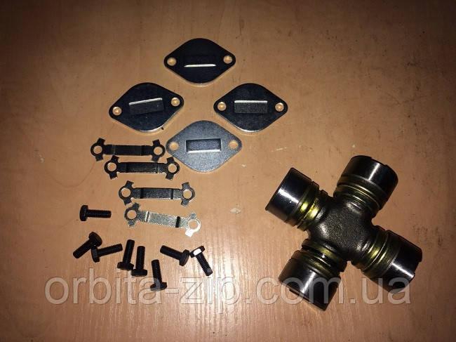 53-2201800-22 Крестовина вала карданного ГАЗ 53 (с комплектом стопорных пластин и крепежом) (RIDER)