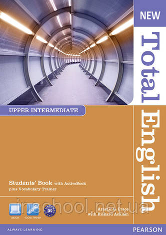 New Total English Upper Intermediate Students' Book (with Active Book CD-ROM) ISBN: 9781408267240, фото 2