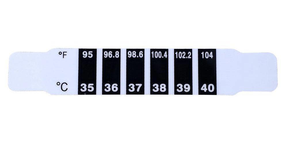 Многоразовый детский градусник термометр на лоб