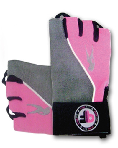 Перчатки BioTech Lady 2 размер L grey/pink