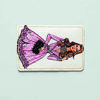 Картхолдер Fisher Gifts 112 Девушка VOGUE 5 (эко-кожа), фото 1