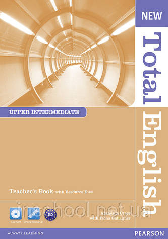 New Total English Upper Intermediate Teacher's Book (with Resource Disc) ISBN: 9781408267301, фото 2