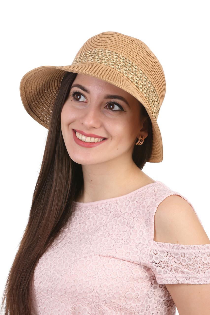 Шляпа летняя мягкая