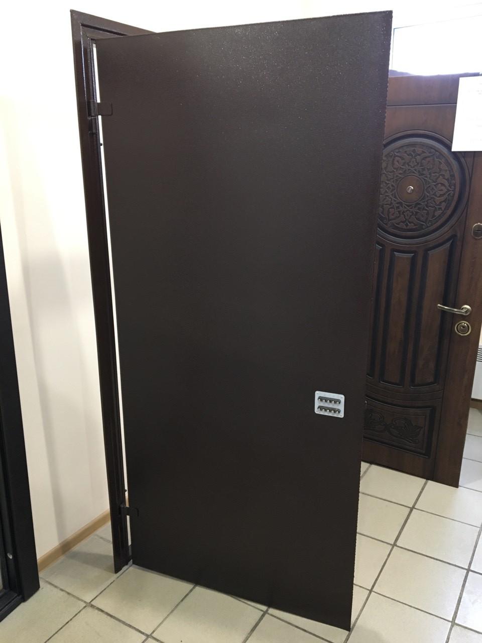 Двери входные металлические в подъезд 950*2040 левые