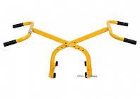 Захват ручний поперечний VOREL для бруківки, бордюрів, з регуляцією, ширина захвату- 6-24 см, фото 1