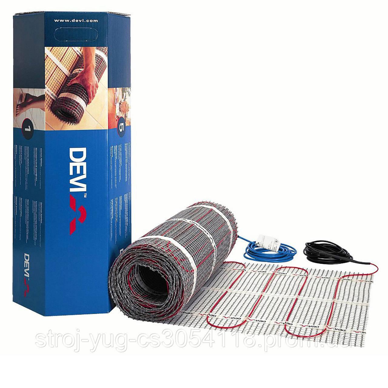 Двужильный мат для теплого пола DEVIcomfort 150T (DTIR-150) 12 кв.м.